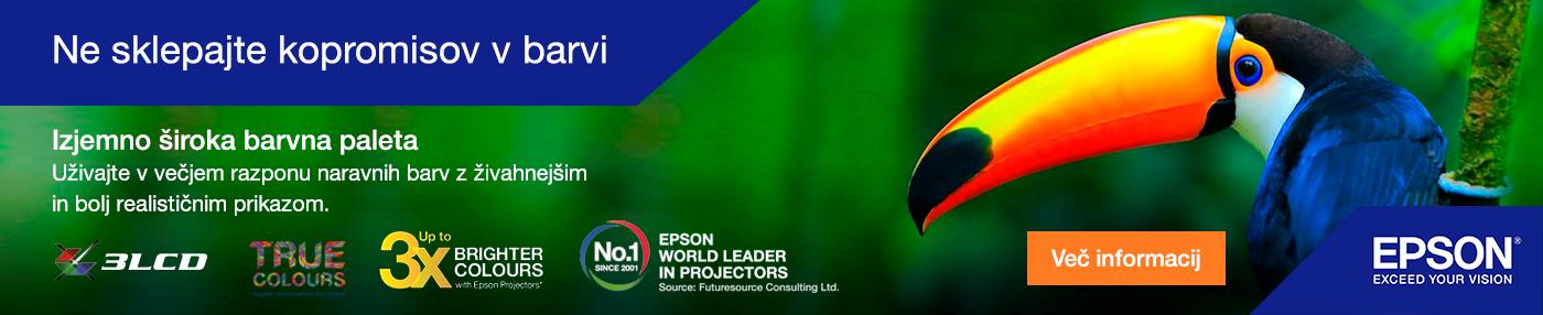 Epson projektorji