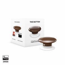 FIBARO The Button, tipka, Rjava FGPB-101-7