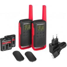 Motorola Walkie Talkie T62 rdeč