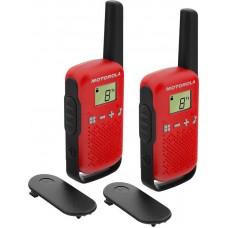 Motorola Walkie Talkie T42 rdeč
