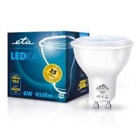 ETA LED žarnica GU10 6 W (toplo bela, 3000K, 401 lm)