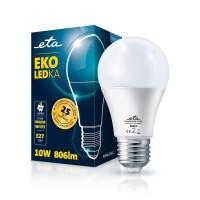 ETA LED žarnica E27 10 W (toplo bela, 2700K, 806 lm)