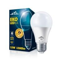 ETA LED žarnica E27 15 W (toplo bela, 2700K, 1500 lm)