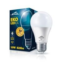 ETA LED žarnica E27 10 W (nevtralno bela, 4000K, 820 lm)