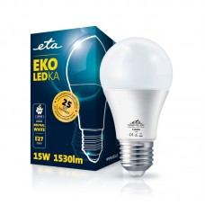 ETA LED žarnica E27 15 W (nevtralno bela, 4000K, 1530 lm)