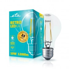 ETA LED žarnica RETRO E27 10 W (toplo bela, 2700K, 1200 lm)