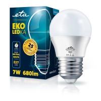 ETA LED žarnica G45, E27 navoj 7 W (nevtralno bela, 4000K, 680 lm)