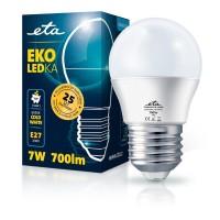 ETA LED žarnica G45, E27 navoj 7 W (hladno bela, 6500K, 700 lm)