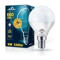 ETA LED žarnica P45, E14 navoj 4 W (toplo bela, 2700K, 330 lm)