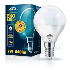 ETA LED žarnica P45, E14 navoj 7 W (toplo bela, 2700K, 640 lm)
