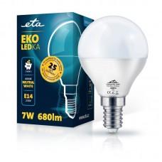 ETA LED žarnica P45, E14 navoj 7 W (nevtralno bela, 4000K, 680 lm)
