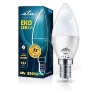 ETA LED žarnica E14 4 W (toplo bela, 2700K, 330 lm)