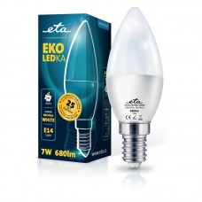 ETA LED žarnica E14 7 W (nevtralno bela, 4000K, 680 lm)