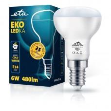 ETA LED žarnica R50, E14 navoj 6 W (hladno bela, 6500K, 480 lm)