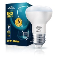 ETA LED žarnica R63, E27 navoj 10 W (nevtralno bela, 4000K, 820 lm)