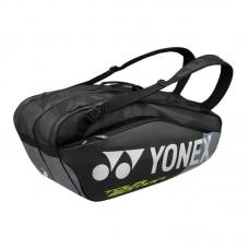 YONEX PRO RAQUET BAG   9826, črna 6 lopa rjev