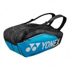 YONEX PRO RAQUET BAG   9826, modra 6 lop arjev