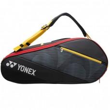 YONEX Torba za loparje ACTIVE RACQUET BA G 6pcsTorba za loparje 82026 Black/Yello