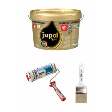 JUB komplet (Jupol GOLD 10 l + valjček + čopič)