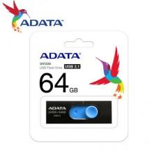ADATA USB KLJUČ UV320 64GB ČRN/MODER AUV320-64G-RBKBL