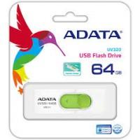 ADATA USB KLJUČ UV320 64GB BEL/ZELEN AUV320-64G-RWHGN