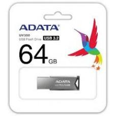 ADATA USB KLJUČ UV350 64GB SILVER AUV350-64G-RBK