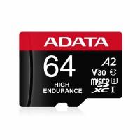 ADATA MICRO SD/HC HIGH ENDURANCE 64GB U3 V30S R100MB/S