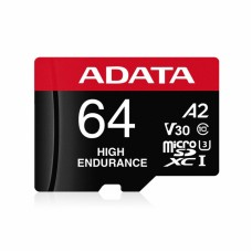 ADATA MICRO SD/HC HIGH ENDURANCE 64GB U3 V30S R100MB/S