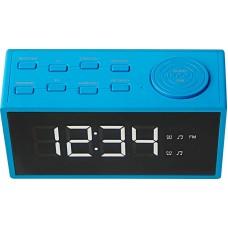 ECG radio alarmna ura RB 040 modra