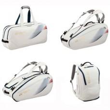 YONEX Torba PRO RACQUET BAG WHITE/GOLD 6 pcs.Torba PRO RACQUET BAG WHITE/GOLD 6 p