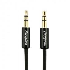 Energizer kabel avdio 2x3,5mm, črn, 1,5m CLASSIC serija