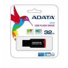 ADATA USB KLJUČ UV140 32GB ČRNO/RDEČ AUV140-32G-RKD