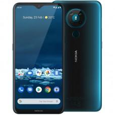 Nokia pametni telefon 5.3 (4GB/64GB) Dual Sim - Moder-cyan