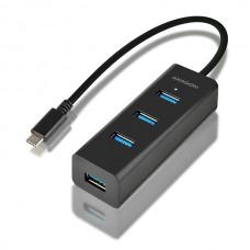 AXAGON USB-C 3.2 razdelilnik, 4-vhodi HUE-S2C