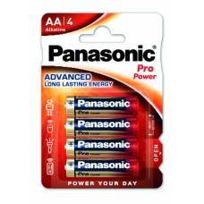 Panasonic baterije PRO Power AA/4 pack LR6PPG/4BP