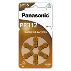Panasonic baterije za slušni aparat PR312  PR312L/6LB