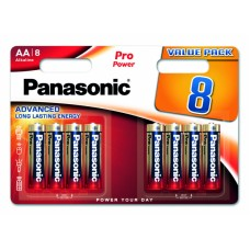 Panasonic baterije PRO Power AA/8 pack LR6PPG/8BW