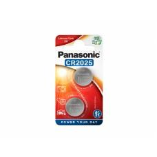 Panasonic gumbna baterij CR2025 CR-2025L/2BP