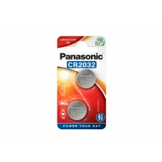 Panasonic gumbna baterij CR2032 CR-2032L/2BP