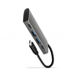 AXAGON razdelilnik USB-C na 2xUSB-A + 2xUSB-C (HMC-4G2)