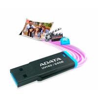 ADATA USB KLJUČ UV140 64GB ČRNO/MODER AUV140-64G-RBE