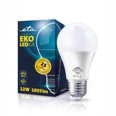 ETA LED žarnica E27 12 W (topla bela, 6500K, 1080 lm)