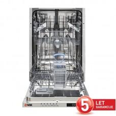 VOX vgradni pomivalni stroj GSI 4641 E [E, 10 pogr., 6 programov]