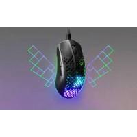 SteelSeries gaming miška Aerox 3 črna