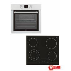 VOX vgradni set plošča in pečica (EBB7226 + EBC410 DB)