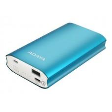 ADATA bat. banka A10050QC (tok 3A) modra USB-C, Quick Charge 3.0, 23W