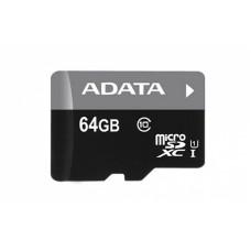ADATA microSDHC/SDXC Premier 64GB C10 z adapterjem