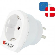 Skross adapter 1.ope to Denmark